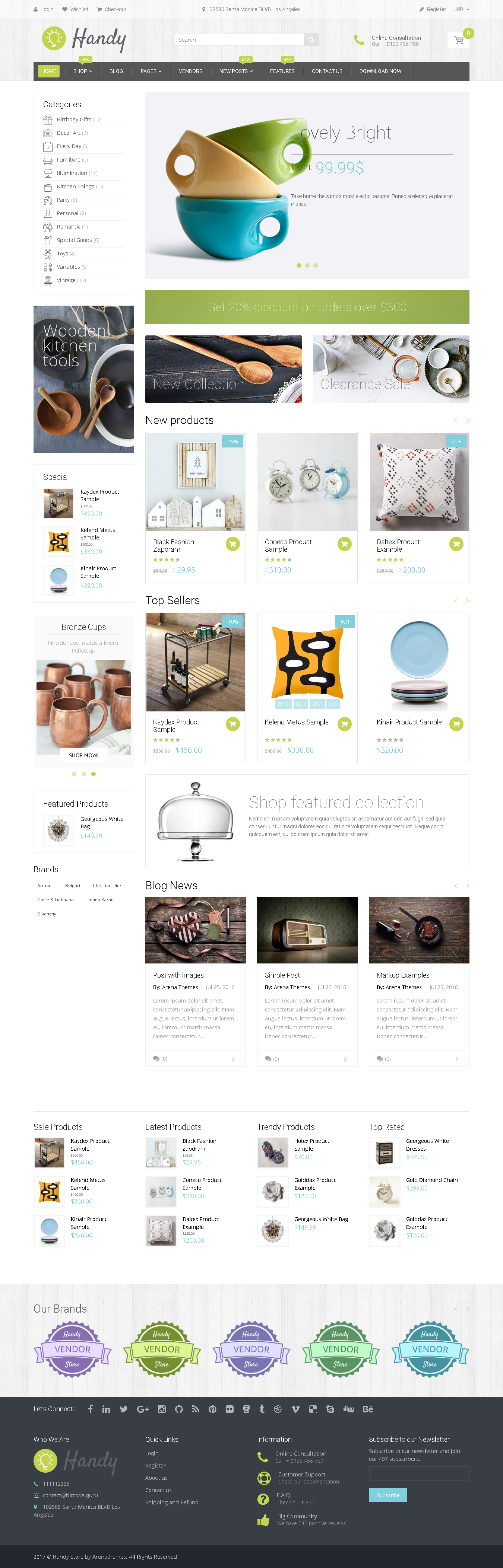 Best Shopify Theme for Art Work - Handy - Handmade Shop Shopify Theme