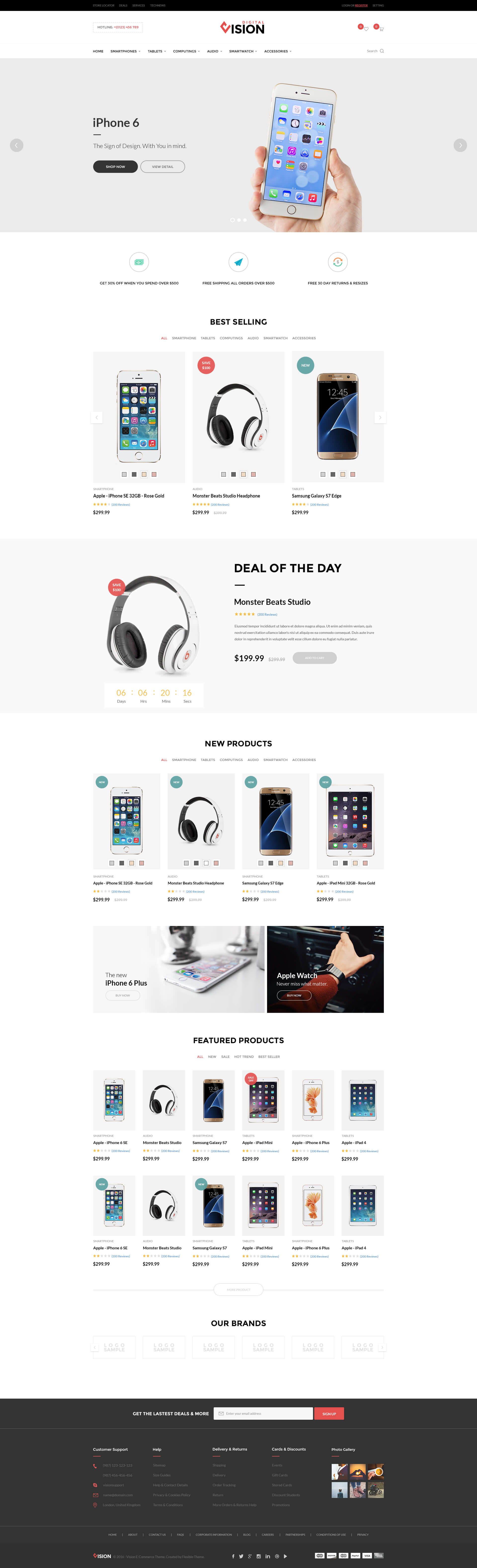 Best Shopify Themes for Selling Digital Products - Vision-Clean Drag and Drop Fashion, Digital Shopify theme
