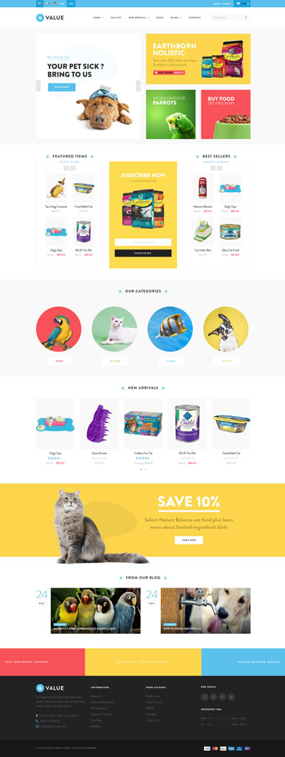 SHOPIFY THEME FOR PET SUPPLIES - Pet Care - Pet Service - Ap Value Shopify Theme