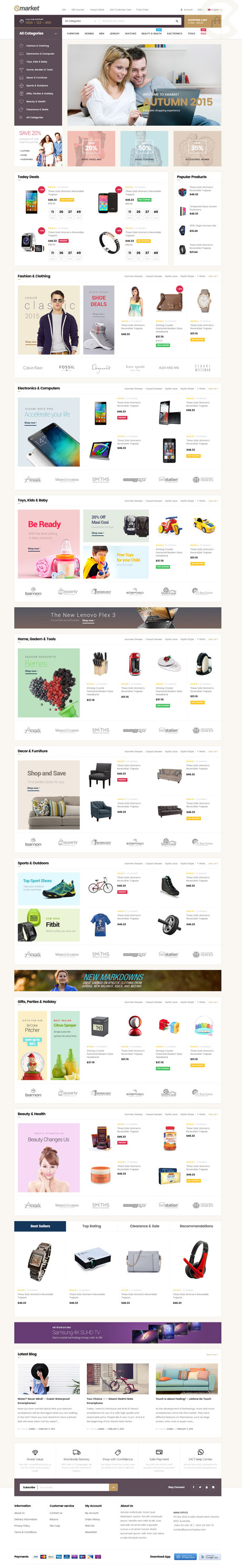 best Shopify Themes for Selling Digital Products - ST Emarket Shopify Theme