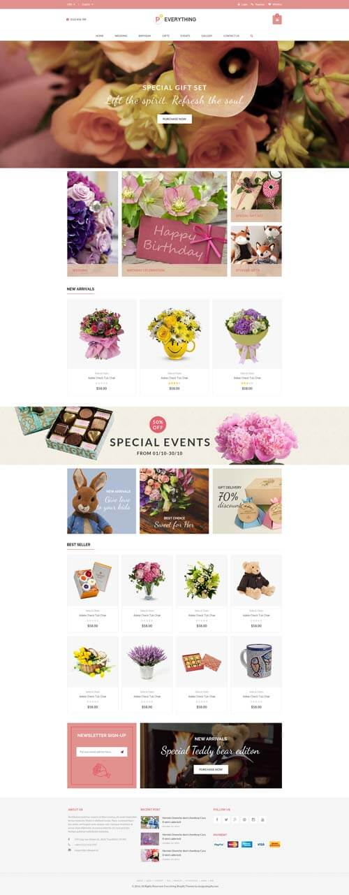 5 Best SHOPIFY Premium Themes Collection for SERVICES Store 2017 - Everything - Multipurpose Premium Responsive Shopify Themes - Fashion, Electronics, Cosmetics, Gifts