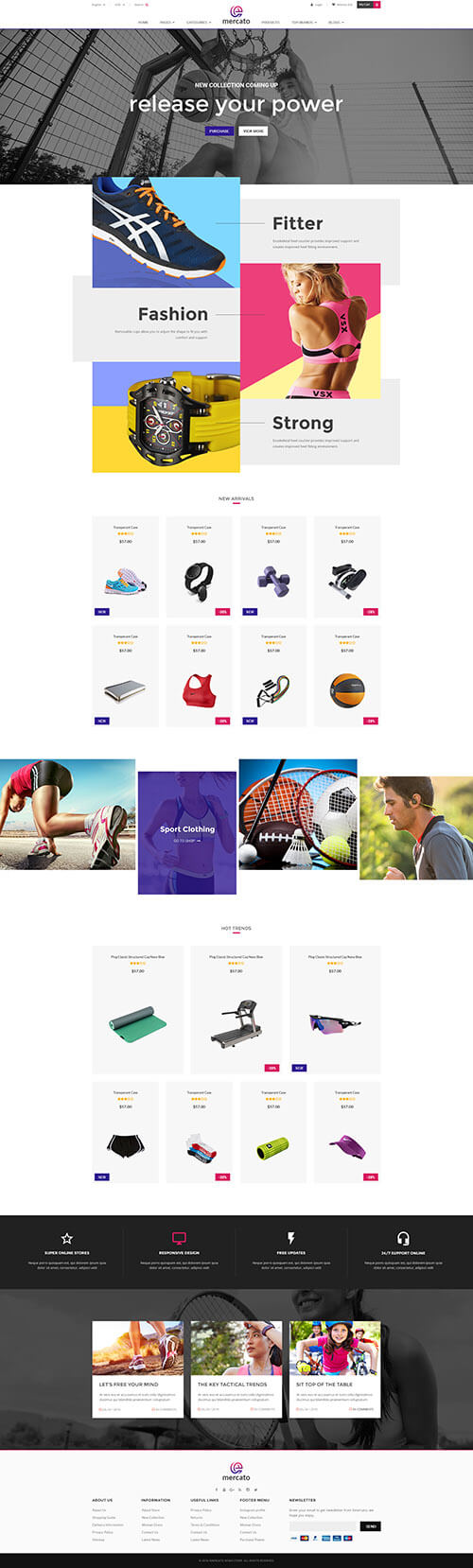5 Best SHOPIFY Premium Themes Collection for SPORTS Store 2017 - Emercato- Multi-purpose Responsive Shopify Theme - Sectioned Drag & Drop Theme Builder
