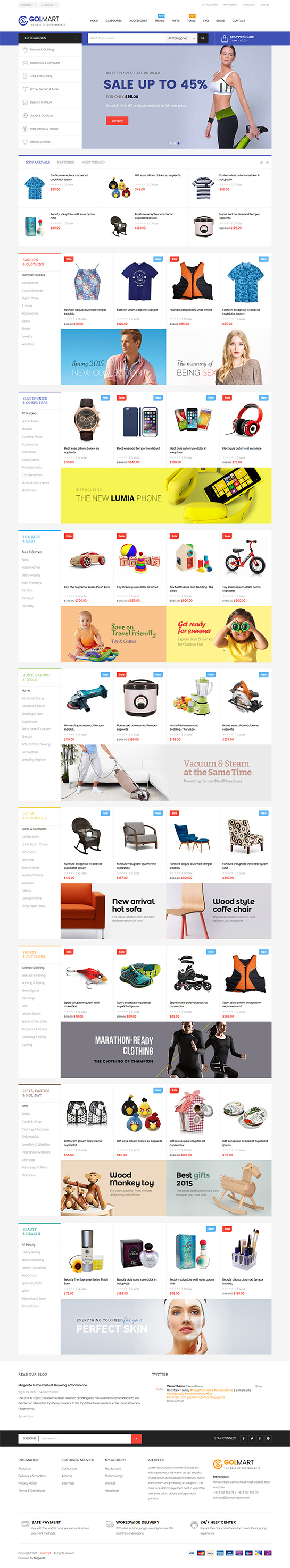 5 Best SHOPIFY Premium themes collection for Furniture Store - Ap Golmart - Responsive Shopify Theme