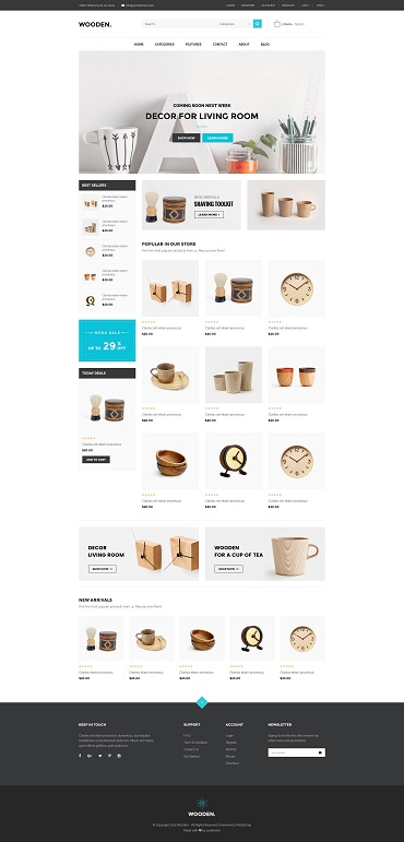 Best SHOPIFY Premium themes collection for Furniture Store 2017 - Ap Wooden Shopify Theme