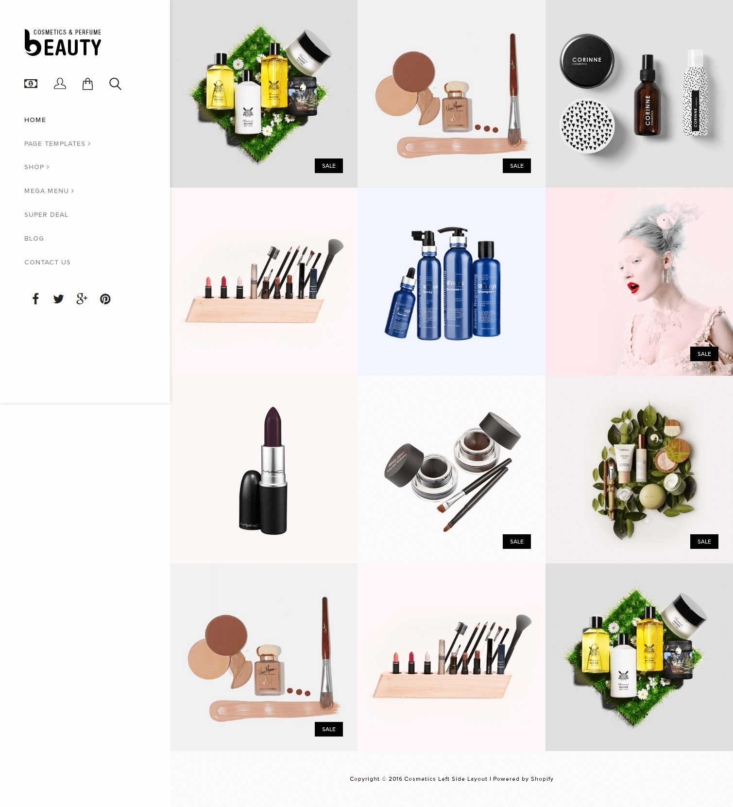 5 Best SHOPIFY Premium Themes Collection for Cosmetics Stores 2017 - Fragrances Perfumes & Cosmetics Store Premium Shopify Theme