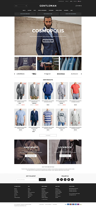 Best SHOPIFY Premium RESPONSIVE Themes Collection for Online Stores - Avenue - Responsive Shopify Theme
