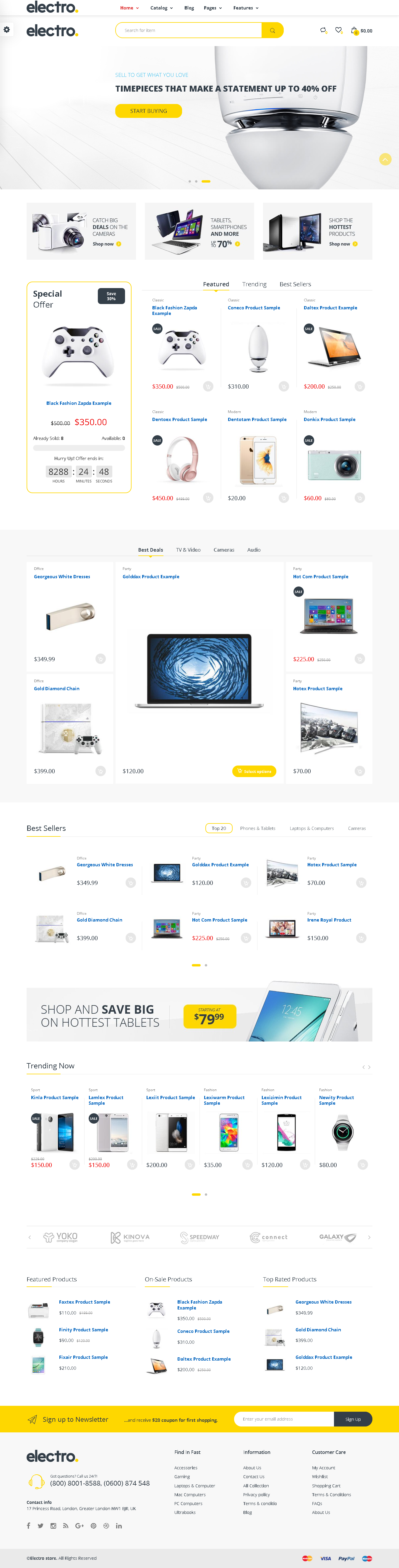 5+ Best SHOPIFY Premium RESPONSIVE Themes Collection