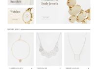 Best WordPress Premium Themes Collection for Jewelry Store - Aurum - Minimalist Shopping Theme
