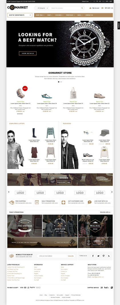 Download Box Style Woocommerce Theme Woocommerce Fashion Store Theme Wendy Peterson