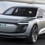 2020 Audi E-Tron concept front end view exterior