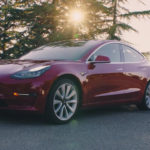 Tesla Model 3 exterior red color - upcoming electric cars 2018-2019
