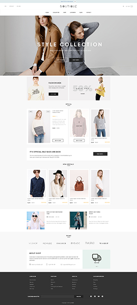 Best Shopify theme for a boutique store - ST Boutique Shopify Theme
