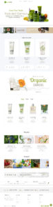 Download Organica - Beauty, Natural Cosmetics, Food, Farn, Eco, Organic Shopify Theme - Sections Ready