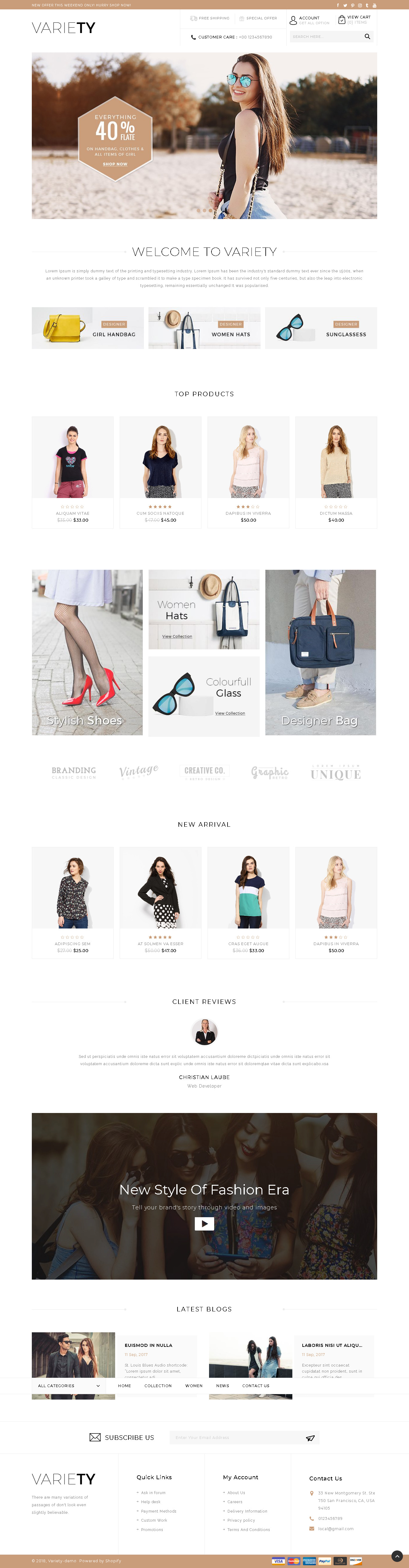 Download variety sectioned multipurpose shopify theme wendy peterson for Shopify theme download