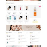 List of Top Shopify themes for Cosmetics Store - Beauty Shopify Theme