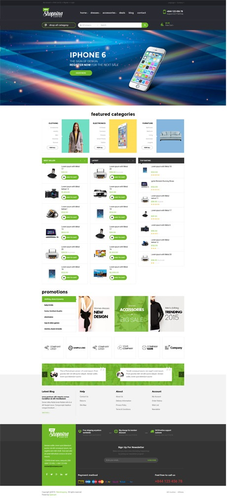 List of Top Shopify themes for Wedding Store - Ap Shopping Center – Responsive Shopify Theme