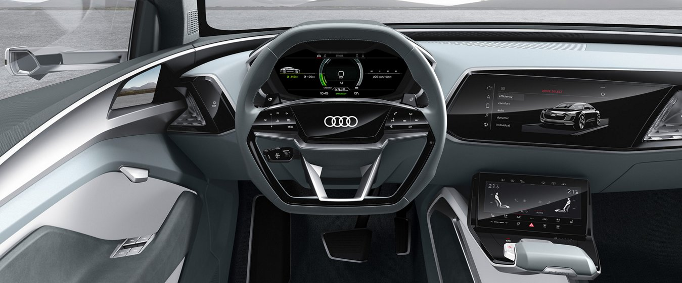 2020 audi e tron concept interior wendy peterson. Black Bedroom Furniture Sets. Home Design Ideas